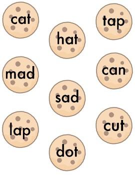 CVC Word Cookies