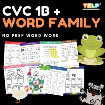CVC & Word Families 1B