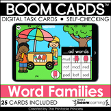 CVC Word Families | Boom Cards™ for Distance Learning