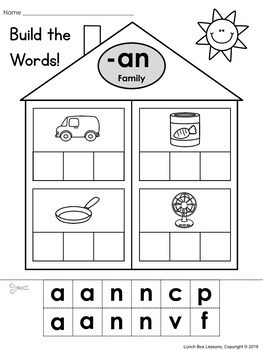 CVC Word Families Bundle