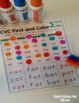 CVC Word Families Find and Color