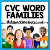 CVC Word Families Interactive Notebook