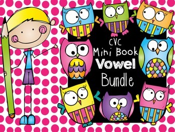 CVC Word Families Mini Books {Bundle}