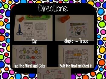 CVC Word Families Mini Books (Short o)