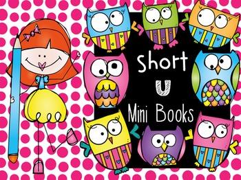 CVC Word Families Mini Books (Short u)