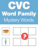 CVC Word Families - Mystery Word Builder Game