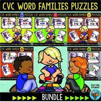 CVC Puzzles | Bundle