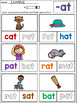 CVC Word Family Worksheets: Read and Color