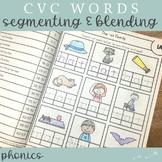 #SPRINGSAVINGS CVC Word Families Spelling Notebook
