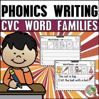 CVC Word Families Writing Printables