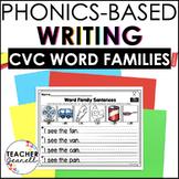 CVC Word Families Writing Printables