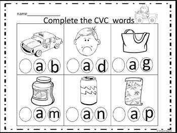CVC Word Family