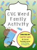 CVC Word Family Activity
