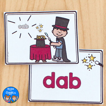CVC Word Family Activity Cards