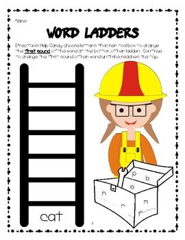 CVC Word Family Activity Pack