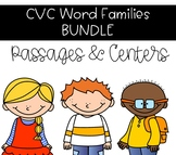 CVC Word Family BUNDLE - Onset and Rime