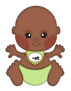 CVC Word Family Baby Feeding Fun