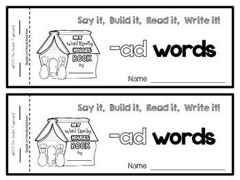 CVC Word Family Books BUNDLED {short a, e, i, o, u}