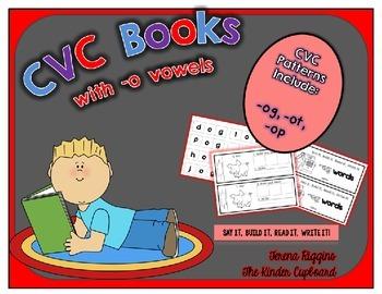 CVC Word Family Books { short o }