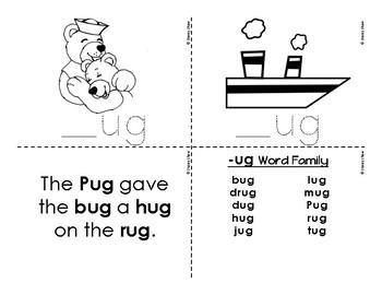 CVC Word Family Bundle - Short u