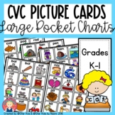 CVC Picture Cards for K-1