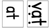 CVC Word Family Cards (short a, e, i, o, u)