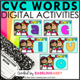 CVC Word Family Digital Bundle Short A E I O U for Google
