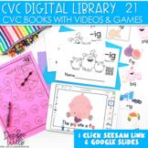 CVC Word Family Digital Library