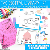 CVC Word Family Digital Library