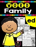 CVC Word Family ED Worksheets