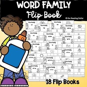 CVC Word Family Flip Book