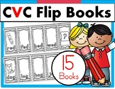 CVC Word Family Flip Flap Books