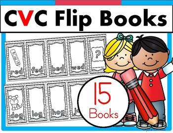 CVC Word Family Flip Flap Books