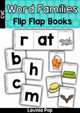 CVC Word Families Flip Flap Books