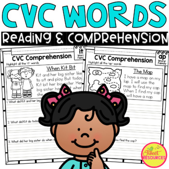 CVC Word Family Fluency and Comprehension