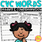 CVC Word Family Reading Fluency and Comprehension