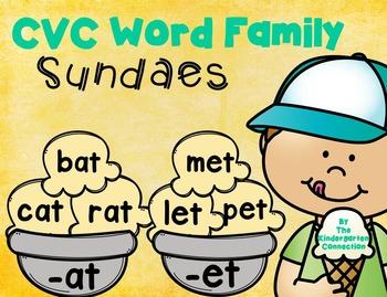 CVC Word Family Game