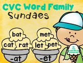 CVC Word Family Game