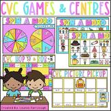 CVC Word Family Games