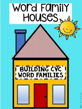 CVC Word Family House