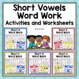 Word Work Centers and Activities | CVC Words Bundle