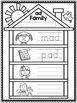 CVC Word Family Houses