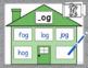 CVC Word Family Houses - Short o Centers!