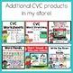 CVC Word Family Interactive Books