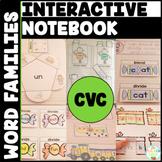 CVC Interactive Notebook Bundle Word Family