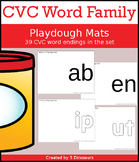 CVC Word Family Mats