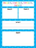 CVC Word Family Mats and Cards. Preschool-Kindergarten Word Families.