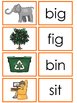 CVC Word Family Mats and Cards. Preschool-Kindergarten Wor
