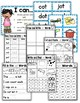 CVC Word Family OT Worksheets