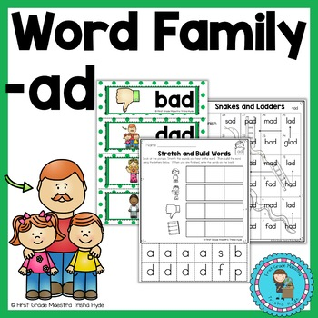 Word Family AD Word Work